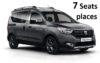 Rent Dacia Dokker Diesel 7 Seating places